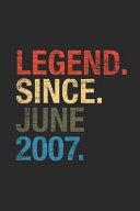 Legend Since June 2007