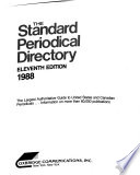 Standard Periodical Directory, 1988