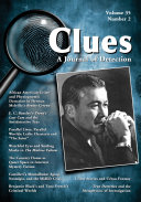 Clues: A Journal of Detection, Vol. 35, No. 2 (Fall 2017)