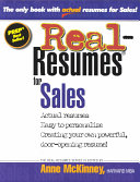 Real resumes for Sales