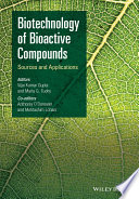 Biotechnology of Bioactive Compounds Book