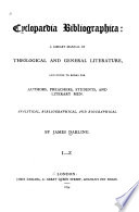 Cyclopaedia Bibliographica Book