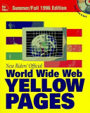 New Riders  Official World Wide Web Yellow Pages