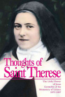 Thoughts of St  Therese