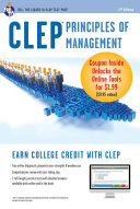 CLEP Principles of Management with Online Practice Exams