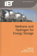 Methane And Hydrogen For Energy Storage Book PDF