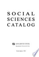 Social Sciences Catalog