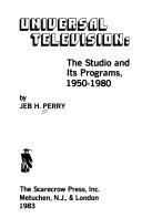 Universal Television Book PDF