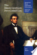 link to The emancipation proclamation in the TCC library catalog