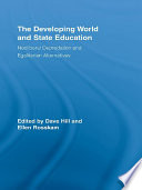 The Developing World and State Education Book
