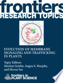 Evolution Of Membrane Signaling And Trafficking In Plants Book PDF