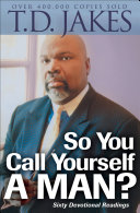 So You Call Yourself a Man? Pdf/ePub eBook