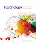 Psychology  Themes and Variations  Briefer Version Book
