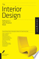The Interior Design Reference   Specification Book