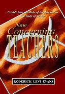 Pdf Now Concerning Teachers Telecharger