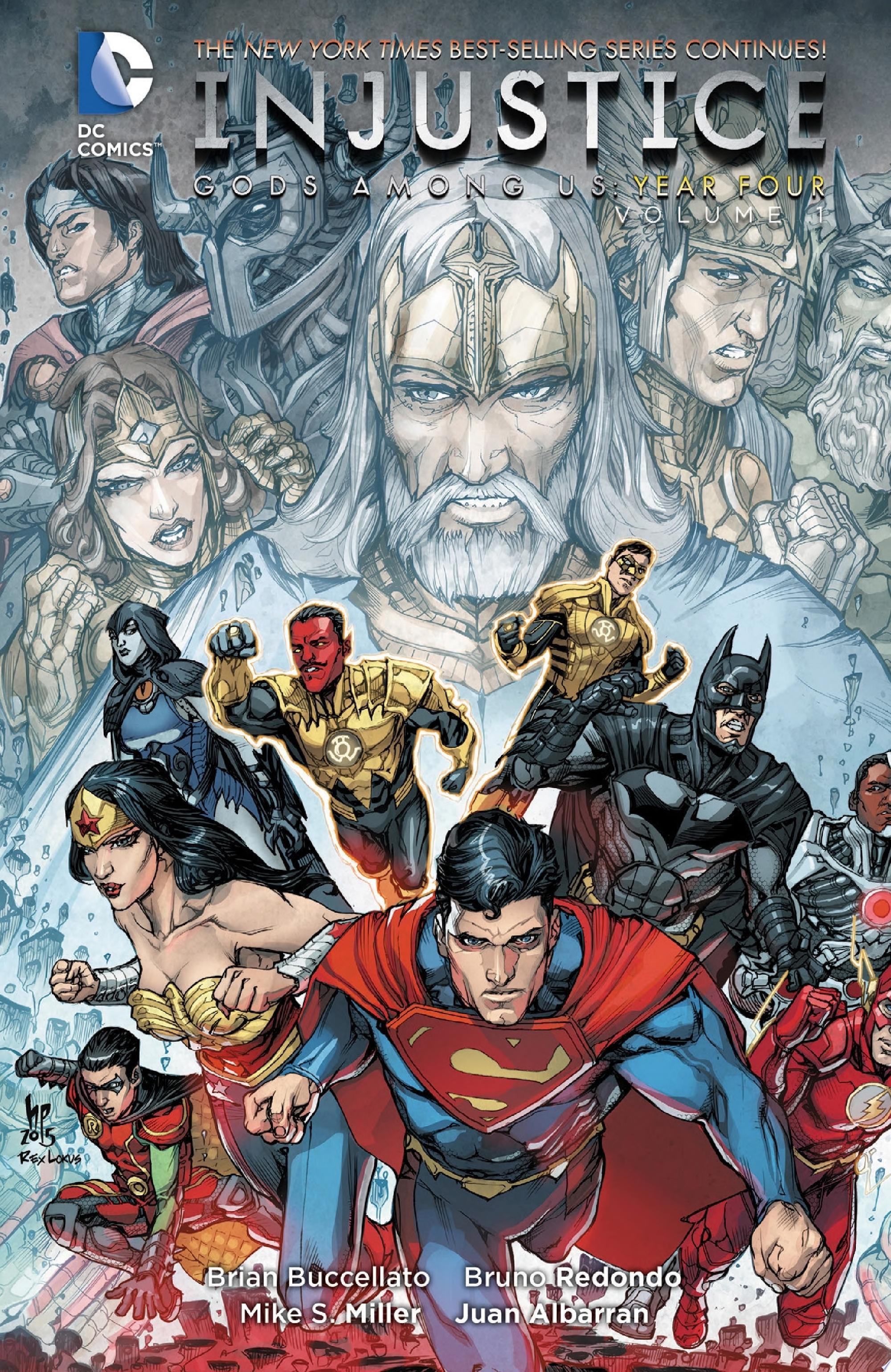 Injustice  Gods Among Us  Year Four Vol  1