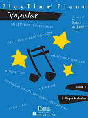 PlayTime Piano: Popular Level 1: 5-Finger Melodies