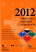 2012 Emergency Response Guidebook