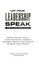 Let Your Leadership Speak