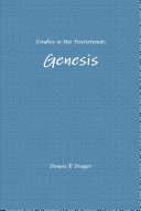 Studies in the Pentateuch: Genesis
