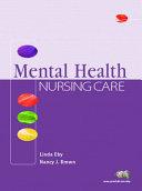 Mental Health Nursing Care Book