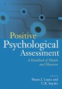 Positive Psychological Assessment