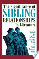 The Significance of Sibling Relationships in Literature Pdf/ePub eBook