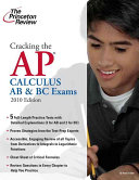 Cracking the AP Calculus AB   BC Exams Book