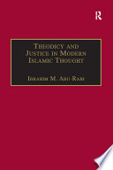 Theodicy and Justice in Modern Islamic Thought