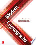 Modern Cryptography Applied Mathematics For Encryption And Information Security