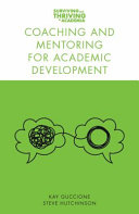 Coaching and Mentoring for Academic Development