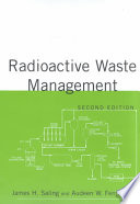 Radioactive Waste Management  Second Edition