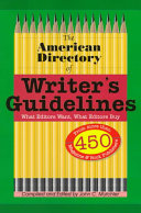 The American Directory of Writer's Guidelines