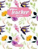 Teacher Plan Book 2019 2020 Book