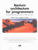 Itanium Architecture for Programmers