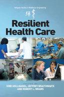 Resilient Health Care Pdf/ePub eBook
