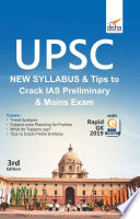 Upsc New Syllabus Tips To Crack Ias Preliminary And Mains Exam With Rapid Gk 2019 Ebook 3rd Edition