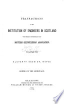 Transactions of the Institution of Engineers in Scotland with which is Incorporated the Scottish Shipbuilders' Association