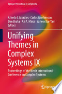 Unifying Themes in Complex Systems IX Book