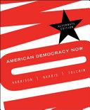 American Democracy Now Book PDF