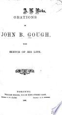 Orations of John B  Gough Book PDF