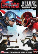 Captain America Civil War Deluxe Colouring and Activity Book