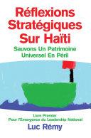 Réflexions Stratégiques Sur Haïti