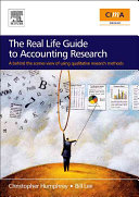 The Real Life Guide to Accounting Research