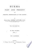 Burma Past and Present
