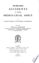 Accidents In Their Medico Legal Aspect Book PDF