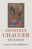 Geoffrey Chaucer in context