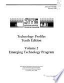 Superfund Innovative Techology Evaluation Program: Emerging technology program
