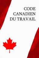 Pdf Code canadien du travail Telecharger