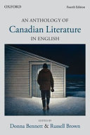 An Anthology of Canadian Literature in English Book